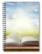 Open Book Spiral Notebook
