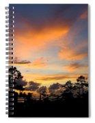 Outer Banks North Carolina Sunset Spiral Notebook