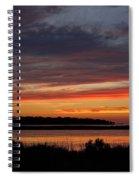 Outer Banks Sunset Spiral Notebook