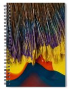 Paint Brushes Camouflaged Spiral Notebook