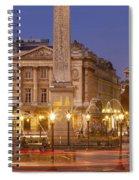 Place De La Concorde Spiral Notebook