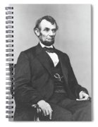 President Lincoln Spiral Notebook