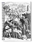 Prince Otto Von Bismarck (1815-1898) Spiral Notebook