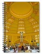 Psar Thmei Central Market In Phnom Penh Cambodia Spiral Notebook
