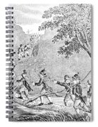 Quebec Expedition, 1775 Spiral Notebook