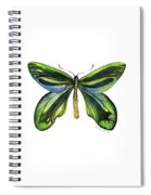 6 Queen Alexandra Butterfly Spiral Notebook
