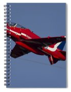 Red Arrows Spiral Notebook