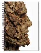 Revered   A Natural Portrait Bust Sculpture By Adam Long Spiral Notebook