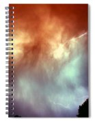 Rounds 2 3 Late Night Nebraska Storms Spiral Notebook