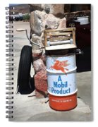 Route 66 Filling Station Spiral Notebook