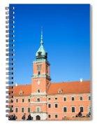 Royal Castle In Warsaw Spiral Notebook