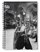 Rudolph Valentino Spiral Notebook