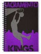 Sacramento Kings Spiral Notebook
