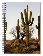 Saguaro Cacti Spiral Notebook