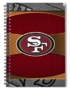 San Francisco 49ers Spiral Notebook