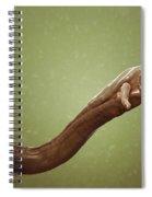 Schistosoma Parasite Worm Spiral Notebook