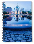 St. Louis Downtown Skyline Buildings At Night Spiral Notebook