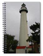 St Simons Island Lighthouse Spiral Notebook