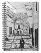 Sutera Rabato Antico Spiral Notebook