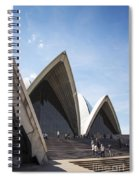 Sydney Opera House Detail In Australia  Spiral Notebook