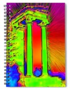 Temple Of Apollo Spiral Notebook