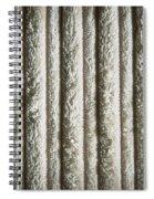 Textile Background Spiral Notebook