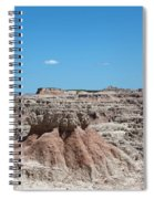The Badlands Spiral Notebook