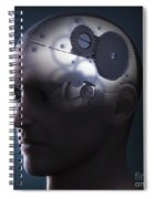 Thought Mechanism Spiral Notebook
