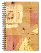 Train Art Abstract Spiral Notebook