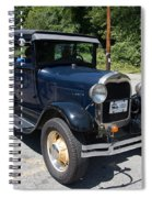 Vintage Cars Spiral Notebook