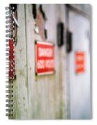 600 Volts Spiral Notebook