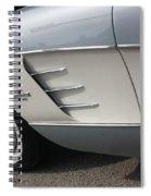 61 Corvette-grey-sidepanel-9241 Spiral Notebook