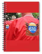 610 Stompers - New Orleans La Spiral Notebook