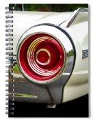 62 Thunderbird Tail Light Spiral Notebook
