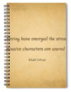 63- Khalil Gibran Spiral Notebook