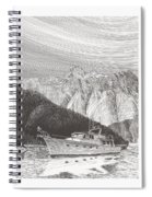 Desolation Sound Quiet Anchorage     Spiral Notebook
