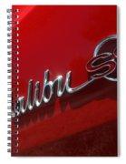 65 Malibu Ss 7822 Spiral Notebook