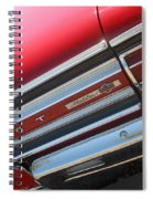 65 Malibu Ss 7827 Spiral Notebook