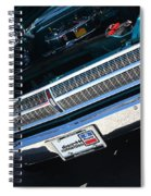 65 Plymouth Satellite Grill-8481 Spiral Notebook