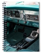 65 Plymouth Satellite Interior-8499 Spiral Notebook