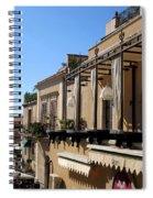 Views Of Taormina Sicily Spiral Notebook