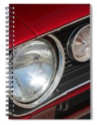 67 Camaro Ss Headlight-8724 Spiral Notebook