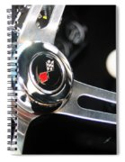 67 Malibu Chevelle Steering Wheel-0055 Spiral Notebook