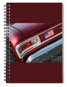 67 Malibu Chevelle Tail Light-0060 Spiral Notebook