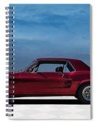 67 Mustang Spiral Notebook