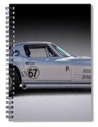 '67 Vette Spiral Notebook