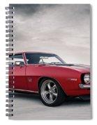 69 Camaro Spiral Notebook