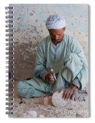 Alabaster Spiral Notebook