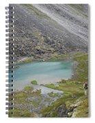 Backpacking In Alaska Talkeetna Spiral Notebook
