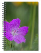Bloody Geranium Spiral Notebook